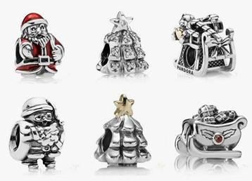 Pandora Christmas Charms 2014