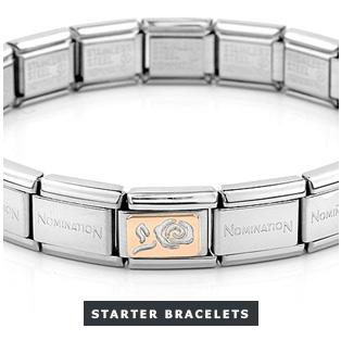 Rose Gold Nomination Starter Bracelet