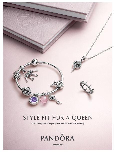 PANDORA Autumn Drop Regal Tales Jewellery Charms Argento