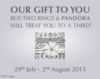 Pandora | 3 for 2 on ALL Rings
