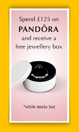 Pandora Jewellery box. Free when you spend over �125
