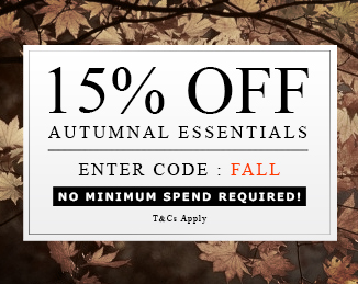 Save 15% on summer essentials