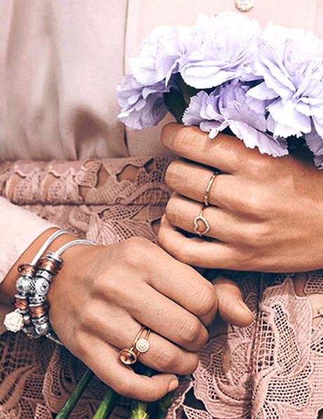 e4f6f7284 Pandora Rose Bow Ring Pandora Hearts of PANDORA Ring Pandora Dazzling Daisy  Band Ring