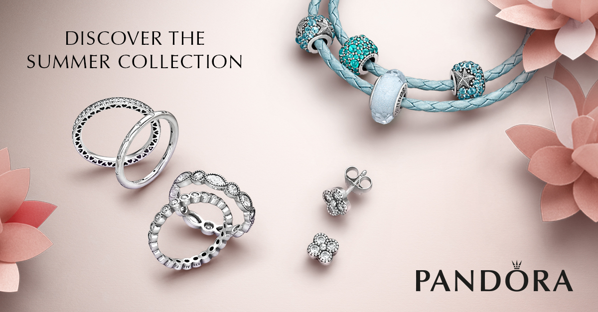 3b11cf871 Discover Pandora's Newest Summer Collection 2016 At Argento