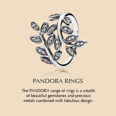 The PANDORA range of rings is a wealth of beautiful gemstones and precious metals combined with fabulous design.