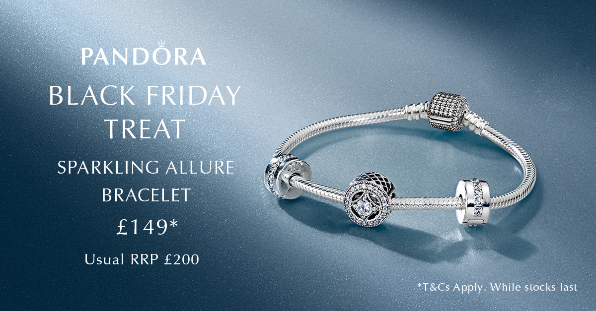 Pandora Christmas & Black Friday Sale. Pandora was known only for best bracelet charms. You will not be able to find such cute and attractive charms in different designs. With huge collections of charms and bracelets, Pandora has been a dream brand for the bracelet lovers.