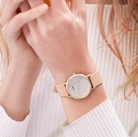cluse pink watch