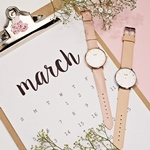cluse watches pink instagram at Argento