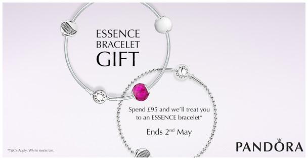 763e1129e Free Pandora Essence Bracelet when you spend £95 on Pandora